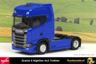 Herpa 306768-002 Scania S Highline 4x2 Trekker Blauw