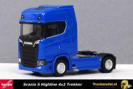 Herpa 307468-003 Scania S Highline 4x2 Trekker Blauw