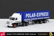 Herpa 307512 Polar Express Scania T143 huifoplegger