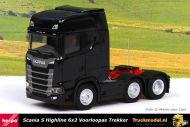 Herpa 307543-002 Scania S Highline 6x2 voorloopas trekker