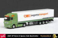 Herpa 307932 Oegema Transport DAF XF Euro 6 Space Cab kastenoplegger