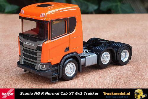 Herpa 309028-002 Scania NG R Normal Cab XT 6x2 Trekker