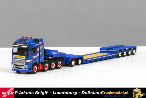 Herpa 309257 P.Adams Volvo FH XL 8x4 2 bed 4 Euro Pendle X