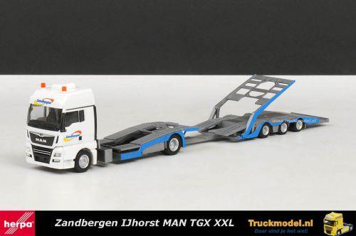 Herpa 309387 Zandbergen MAN TGX FVG TruckLiner Trucktransporter