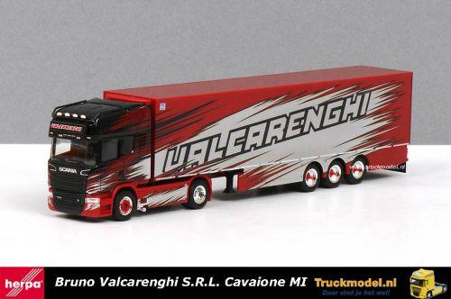 Herpa 309493 Bruno Valcarenghi S.R.L. Italia Scania R730 koeltrailer