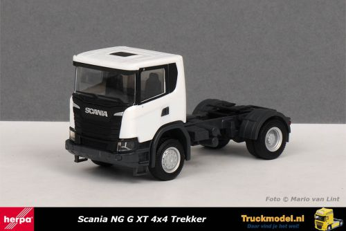 Herpa 309769 Scania NG G XT 4x4 Trekker wit