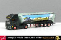 Herpa 309806 Hildegard Freund Special Volvo FH kippersilotrailer