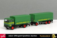 Herpa 309820 Adam Offergeld Spedition Ford Transcontinental huifcombi