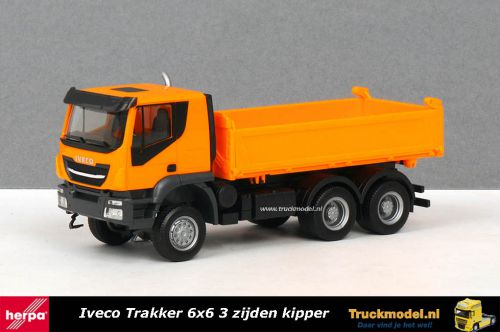 Herpa 309998 Iveco Trakker 6x6 kipper