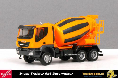 Herpa 310000 Iveco Trakker 6x6 Betonmixer