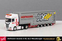 Herpa 310109 Hofmann Scania S Highline Meusburger dieplader