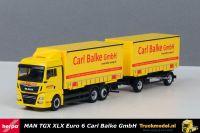 Herpa 310222 Carl Balke GmbH MAN TGX wisselbakken combinatie