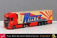 Herpa 310420 Franz Wirtz Scania S Highline Koeltrailer