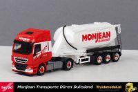 Herpa 310451 Monjean Transporte Iveco Stralis XP onderlosser bulkoplegger