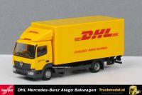 Herpa 310505 DHL Mercedes Atego Bakwagen met laadklep