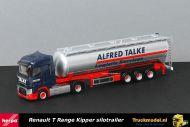 Herpa 310611 Alfred Talke Renault T Range silotrailer