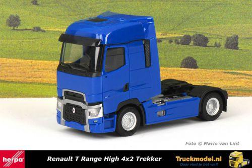 Herpa 310628-002 Renault T High 4x2 Trekker Blauw