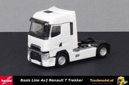 Herpa 310628 Renault T 4x2 Trekker wit