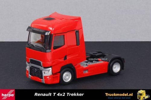 Herpa 310635 Renault T 4x2 Trekker Rood