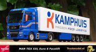 Herpa 311311 Kamphuis Barneveld MAN TGX XXL Koeltrailer