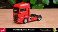 Herpa 311939 MAN TGX GX 4x2 Trekker Rood