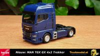 Herpa 312134 MAN TGX GX 4x2 trekker Blauw