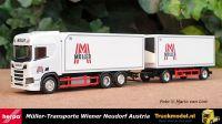 Herpa 312448 Muller Oostenrijk Scania NG R koelcombi