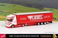 Herpa 312486 Vogel Volvo FH Globetrotter XL Megatrailer
