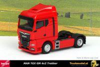 Herpa 312516 MAN TGX GM 4x2 Trekker Rood