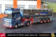 Herpa 312691 Anhalt Bargen DAF XF SSC MY2017 Tanktrailer