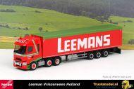 Herpa 312790 Leemans Renault T 6x2 Walkingfloortrailer