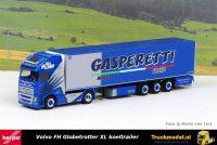 Herpa 312806 Gasperetti Italia Volvo FH4 XL Koeltrailer