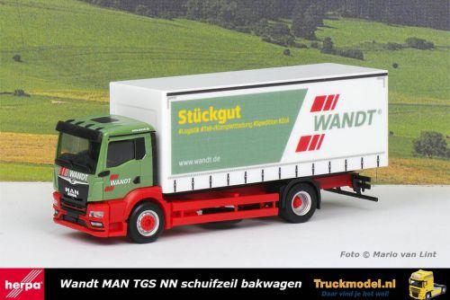 Herpa 312943 Wandt MAN TGS NN schuifzeilen bakwagen