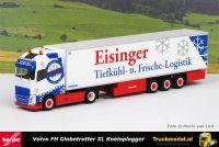 Herpa 313025 Eisinger Kuhltransporte Volvo FH XL Koeltrailer