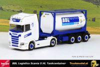 Herpa 313162 BBL Logistics Scania S Highline tankcontainertrailer