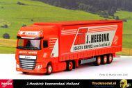 Herpa 313292 J.Heebink DAF XF SSC schuifzeiltrailer