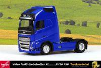 Herpa 313353 Volvo FH05 Globetrotter XL 4x2 trekker Blauw