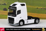Herpa 313360 Volvo FH05 Globetrotter XL 4x2 Wit