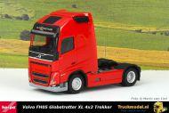 Herpa 313377 Volvo FH05 Globetrotter XL 4x2 Trekker Rood