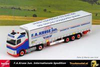 Herpa 313407 F.A.Kruse jun. Volvo FH04 schuifzeiloplegger