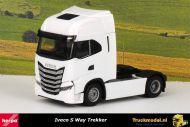 Herpa 313445 Iveco S-Way 4x2 Trekker wit