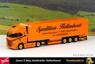 Herpa 313476 Spedition Hollenhorst Iveco S Way koeltrailer