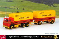 Herpa 313902 Stjarnstroms Akeri Scania LBS141 huifcombinatie