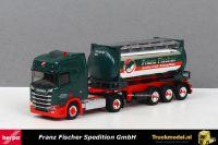 Herpa Exclusief 5023 Franz Fischer Scania R580 HL Tankcontainer trailer