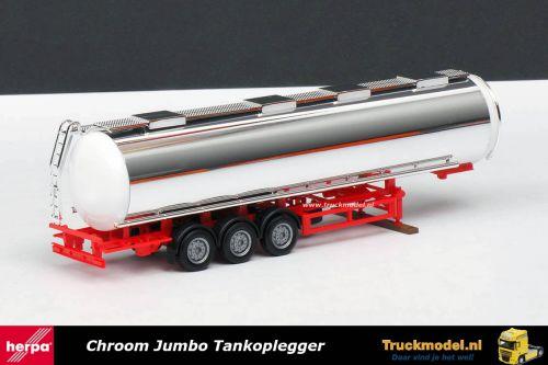 Herpa 76180 Jumbo Tankoplegger Verchroomd