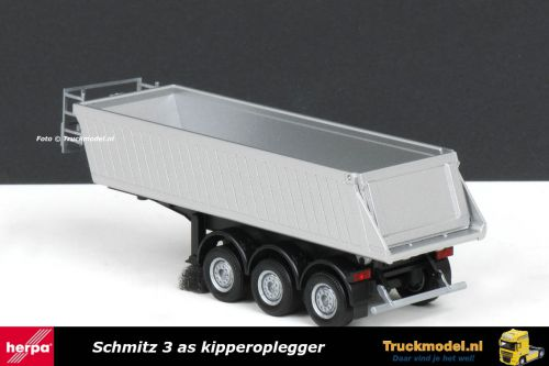 Herpa 76548 Schmitz 3 as kipper oplegger