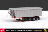Herpa 76555-002 Kempf volume kippertrailer afgezeild
