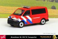 Herpa 941907 Brandweer NL VW T6 Transporter Bus