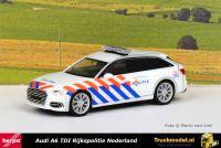 Herpa 941938 Rijkspolitie Nederland Audi A6 Avant TDI