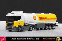 Herpa 307611 Shell Scania NG R Normal Cab trekker tankoplegger